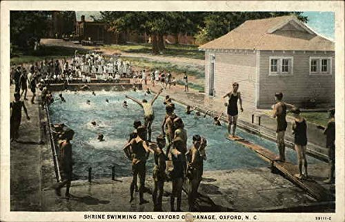 Shrine Swimming Pool, at Oxford Orphanage in Oxford, North Carolina