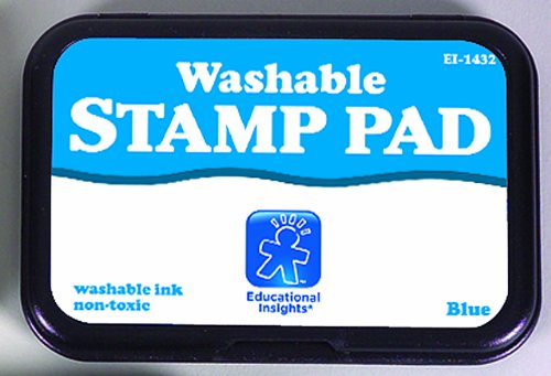 Educational Insights Stamp Pad/Blue