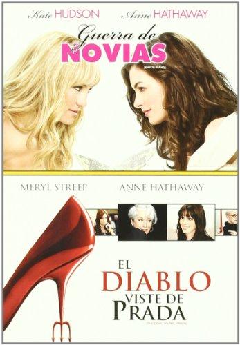 Guerra De Novias+El Diablo Se (Dvd Import) (European Format - Region 2) (2009) Anne Hathaway; Kate Hudson;