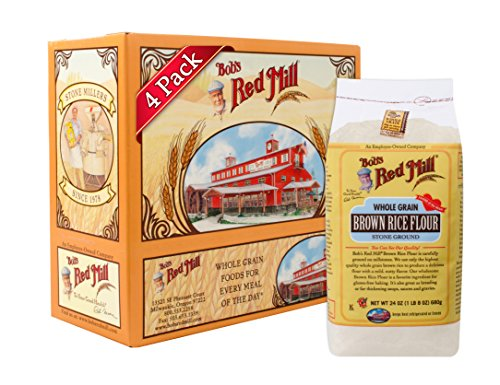 Bob's Red Mill Gluten Free Brown Rice Flour, 24-ounce (Pack of 4) (Flour Brown Rice compare prices)