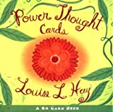 Cover of Power Thought Cards by Louise Hay 1561706124