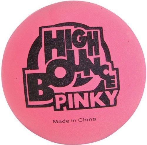 """6 Pinky Rubber Balls - High Bouncing Balls - 2.5"""""""