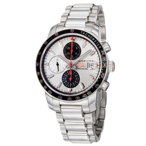 Chopard Men's 158992-3006 Miglia Monaco Silver Chronograph Dial Watch