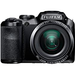 Fujifilm FinePix S4800 16MP Digital Camera with 3-Inch LCD (Black)