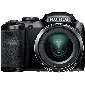 Fujifilm FinePix S4800 16MP Digital Camera with 3-Inch LCD (Black) (Discontinued by Manufacturer)