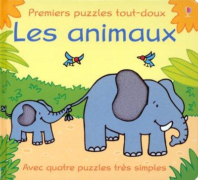 Les animaux (Premiers puzzles tout-doux)
