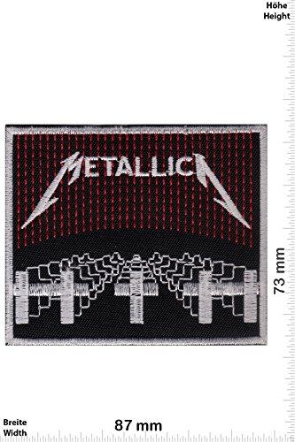 """Patch - Metallica - Master of Puppets - Musica - Metallica - Metallica- toppa - applicazione - Ricamato termo-adesivo - Patch"""""""