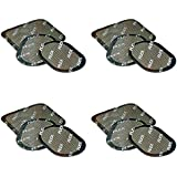12 Pads 4 Sets of Replacement Gel Pads for Abdominal Belts