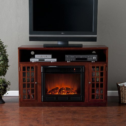 50 electric fireplace with cabinet tv media stand