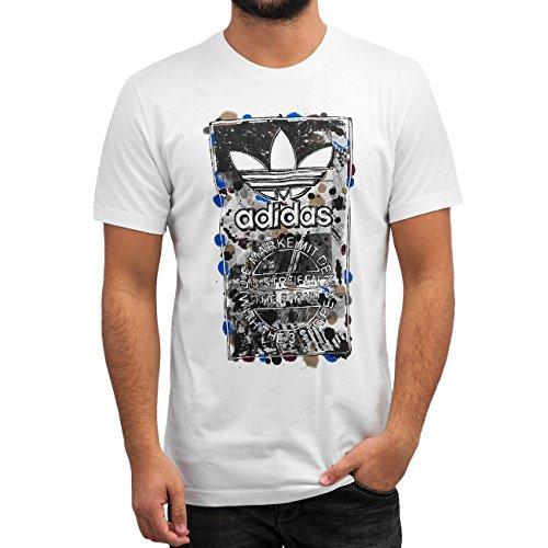 Adidas Culture Clash T T-shirt - Bianco (White) - 2XL