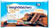 WeightWatchers 5 Caramel Wafers 92 g (Pack of 6)