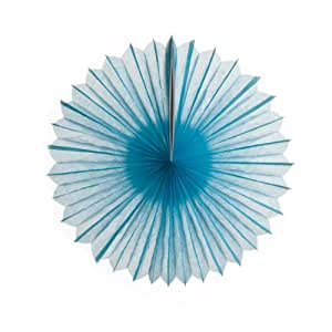 Koyal Paper Pinwheels, 10-Inch, Baby Blue, Set of 6