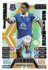 Match Attax 2013/2014 Steven Pienaar Everton 13/14 Man Of The Match