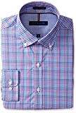 Tommy Hilfiger Men's Slim Fit Non Iron Multi Check Shirt