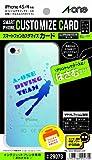 スマートフォンカスタマイズカード iPhone4/4S 透明