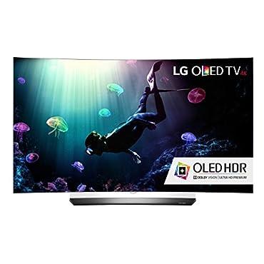 LG OLED55C6P Curved 55 4K Ultra HD HDR Smart OLED TV (2016 Model)