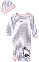 Hello Kitty Baby-Girls Newborn Cap and Gown, Pink, One Size
