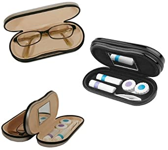 Dual Sided Eye Care Case (Blue) at Amazon Men's Clothing ...