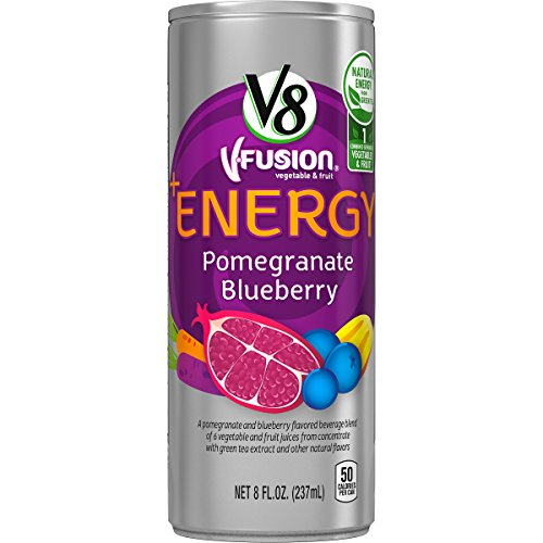 V8 +Energy, Pomegranate Blueberry, 8 Ounce (Pack of 24)