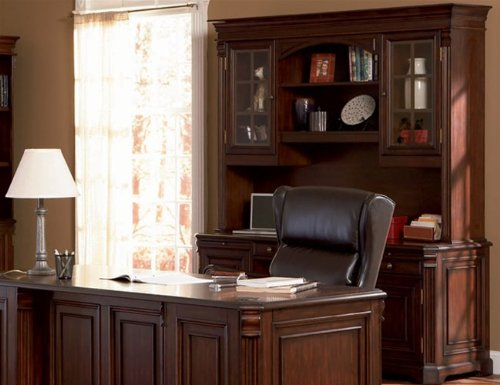 Buy Low Price Comfortable Home Office Computer Desk with Hutch in Rich Dark Finish – Coaster Co. (B003XRBR5Y)