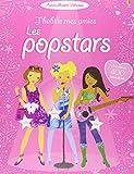 J'habille mes amies - Les popstars - Autocollants Usborne