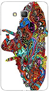 Timpax protective Armor Hard Bumper Back Case Cover. Multicolor printed on 3 Dimensional case with latest & finest graphic design art. Compatible with Samsung Galaxy Grand 2 - 7106/7105 Design No : TDZ-27031