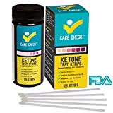 Care Check Ketone Test Strips - 125 Urinalysis Strips