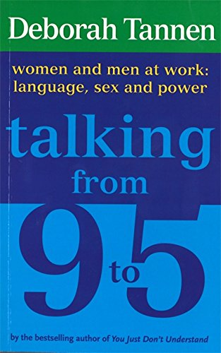the communications of men and women in you just dont understand by deborah tannen