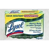 Lysol Durable Scrub Sponges, 2-Pack