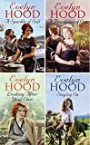 EVELYN HOOD EVELYN HOOD FOUR BOOK SET COLLECTION: A SPARKLE OF SALT __ A PROCESSION OF ONE __ LOOKING AFTER YOUR OWN __ STAYING ON