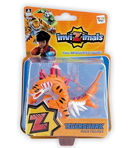 Galleon invizimals tigershark mega figure nib rare - Tigershark invizimals ...