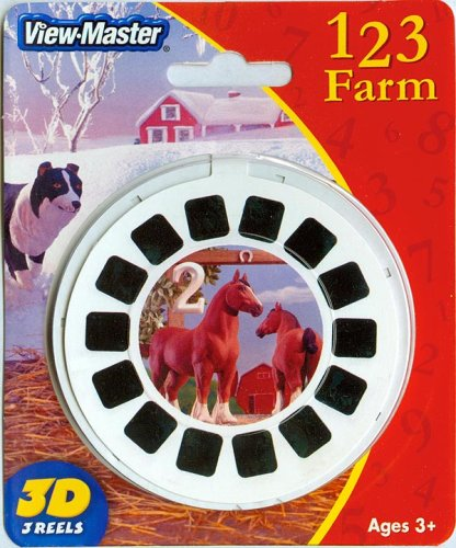 ViewMaster 123 Farm - Learn your Numbers with Classic Figures - Buy ViewMaster 123 Farm - Learn your Numbers with Classic Figures - Purchase ViewMaster 123 Farm - Learn your Numbers with Classic Figures (View Master, Toys & Games,Categories,Activities & Amusements,Viewfinders)