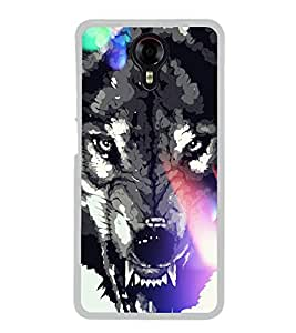 Fox 2D Hard Polycarbonate Designer Back Case Cover for Micromax Canvas Xpress 2 E313
