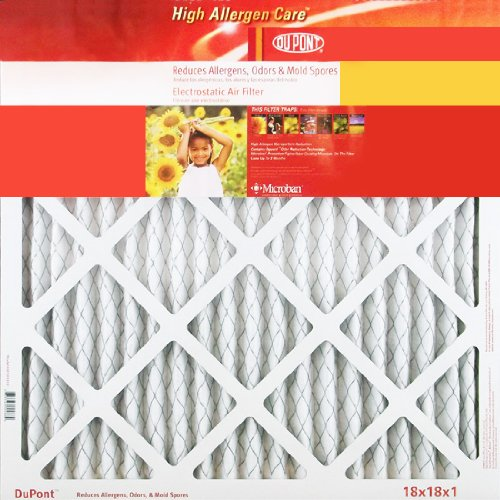 18X24X1 (17.75 X 23.75) Dupont High Allergen Care Electrostatic Air Filter