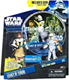 "Star Wars Clone Wars DVD Set ""Legacy of Terror"" Obi Wan Kenobi & Clone Trooper"