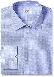 Arrow Men's Formal Shirt (8907378522993_ASSF0298_46_Light Blue)