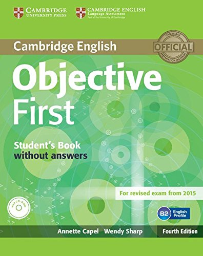 Objective First Student's Book without Answers with CD-ROM Fourth Edition