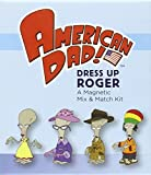American Dad! Dress Up Roger Magnetic Mix & Match Kit