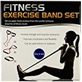 Fitness Exercise Band Set With Storage Bag