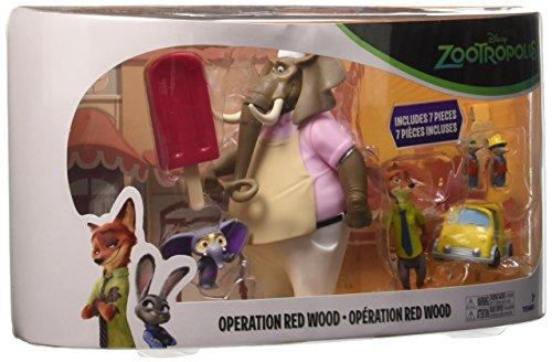 Rocco Giocattoli L70904 - Zootropolis, Storypack con 5 Personaggi