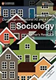Cambridge International AS and A Level Sociology Teacher's Resource CD-ROM (Cambridge International Examinations)
