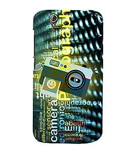 Photography Camera Art 3D Hard Polycarbonate Designer Back Case Cover for Acer Liquid Zade Z630 : Acer Liquid Zade Z630S