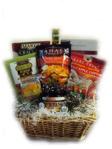 Happy Hanukkah Healthy Gift Basket