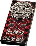 Speed Demons Abec-5 Red Bearing Single Set