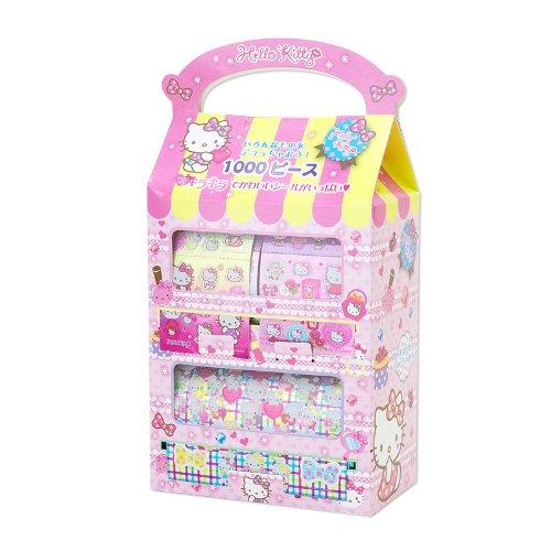 Hello Kitty   Seal   1000 Pcs Set ( Japanese Import )