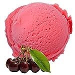 Sauerkirsch Geschmack 1 Kg Gino Gelati Eispulver für Speiseeis Softeispulver Speiseeispulver