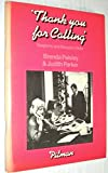 img - for Thank You for Calling: Telephone and Reception Skills book / textbook / text book