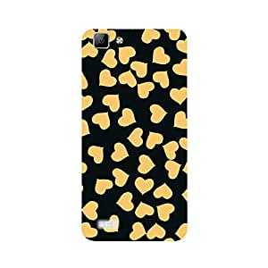 Phone Candy Designer Back Cover with direct 3D sublimation printing for Vivo v1