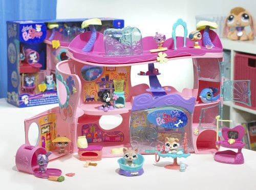 Hasbro littlest pet shop 908731480 figurine accessoire le salon de toilettage - Le salon de toilettage petshop ...