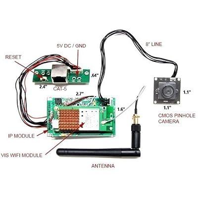 Do-It-Yourself WiFi Spy Camera Kit